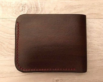 Bi-Fold Leather Wallet handmade to order