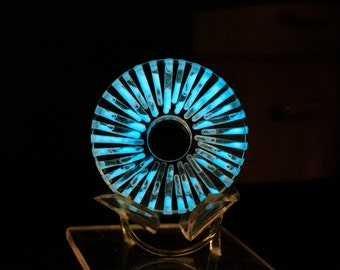 Glowing Liquid Galaxy Spinning Fidget