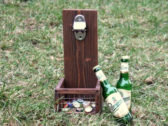Beer Cap Catcher Beer Bottle Opener Man 39 S Gift
