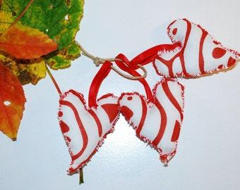 Three Hearts Decorations christmas decorations