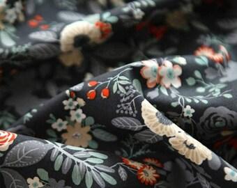 flower fabric. floral fabric. blackberry fabric. elegant. unique fabric. bedding. living room deco. curtain fabric. cushion.