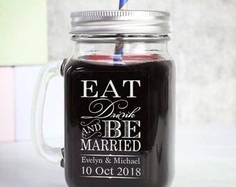 "Personalized Wedding Labels, Personalized Sticker Labels, Wedding Sticker, Personalized Stickers Wedding, Mason Jar Labels 3"" x 2"" W13"