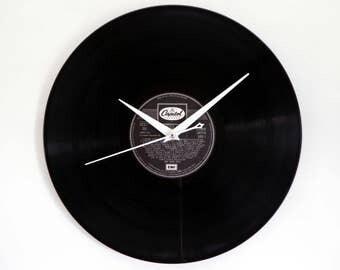 Nat King Cole Vinyl Record Wall Clock