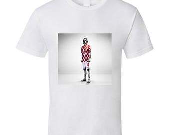 Luka Modric Croation Soccer Tshirt (all Colors And Styles Available)