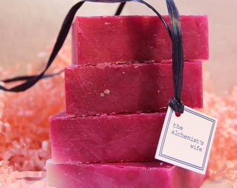 Pretty in Pink Handmade Cold Process Soap gifts