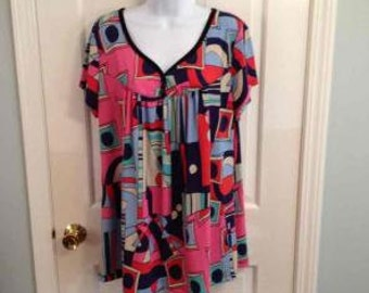 Plus size womens clothing top Size 1X NWOT