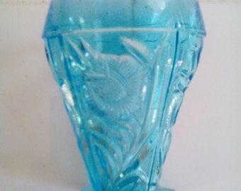 Carnival Glass Tumbler - Grand Thistle