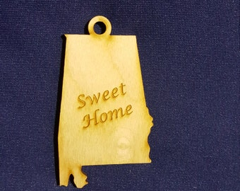 Sweet Home Alabama state ornament