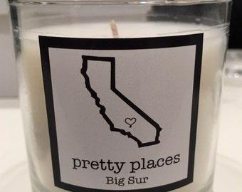Big Sur candle