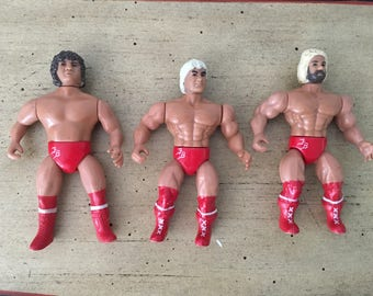 1985 AWA Figures The Fabulous Freebirds