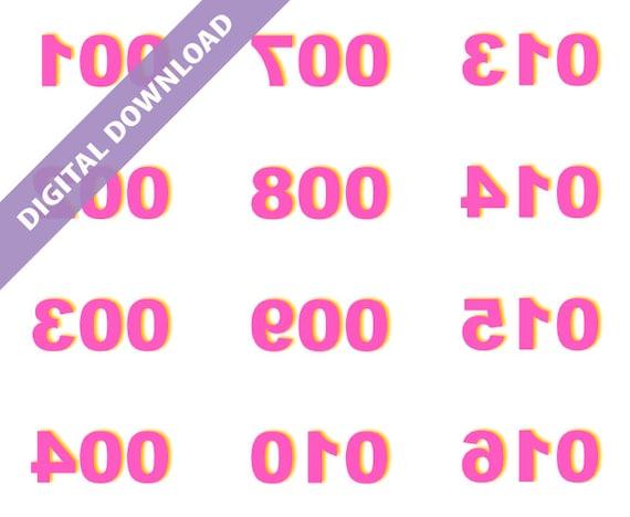 image regarding Paparazzi Printable Numbers named Paparazzi Jewellery Printables Figures Household Exsplore