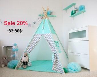 Teepee, Wigwam, Kids Teepee, Playhouse, Tee pee, Kids teepee tent, Tipi, zelt, play teepee, kids tipi, teepee tent