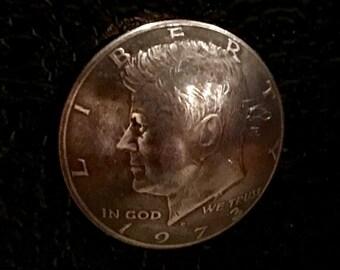4 Pack of John F Kennedy Half Dollar Magnets