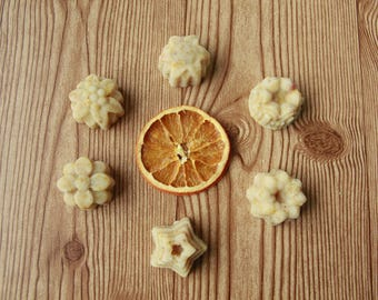 Orange Mojito Sugar Scrub Mini Bars ~ healing, happiness, uplifting