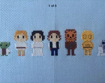 Star Wars Cross Stitch Piece