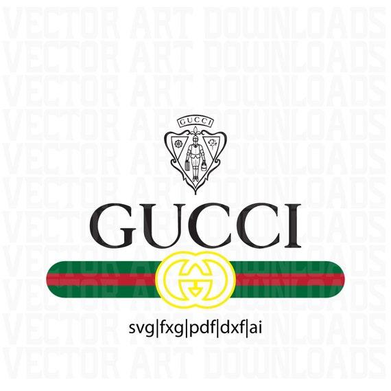 Gucci og inspired logo vector art svg dxf pdf fxg ai format - Images of gucci logo ...