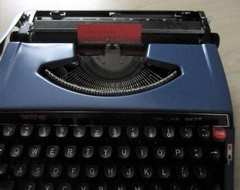 Brother typewriter de luze 240T, vintage