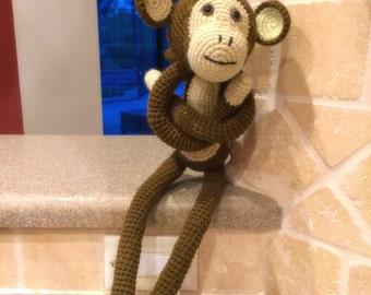 Crochet Toy Monkey