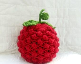 KNITTING PATTERN beanie baby hat Knitting Pattern CROCHET pattern Baby Fruit and Berry Knit Pattern Kid's Fruit Cap