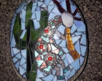 Garden stone kokopelli