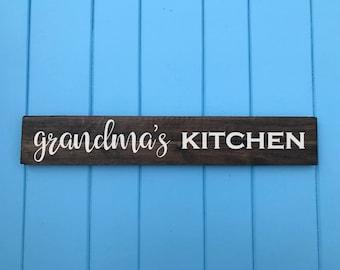 Grandma Gift - Gifts for Grandma - Grandmas Kitchen - Housewarming Gift - Birthday Gift - Mothers Day Gift