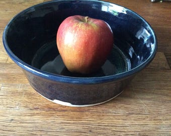 Handmade bowl, fruit bowls, salad bowl, wheel thrown pottery, kitchen ceramics, Bristol crafts, gift, for her, for him