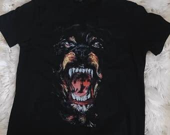 designer of givenchy 964e  Rottweiler Givenchy Paris T shirt Designer