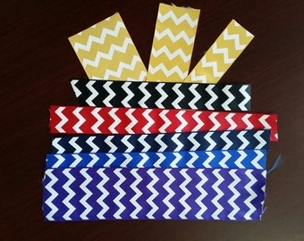 Chevron Grosgrain Ribbon Available in 3 sizes and 6 colors. 5 yards for 1.75