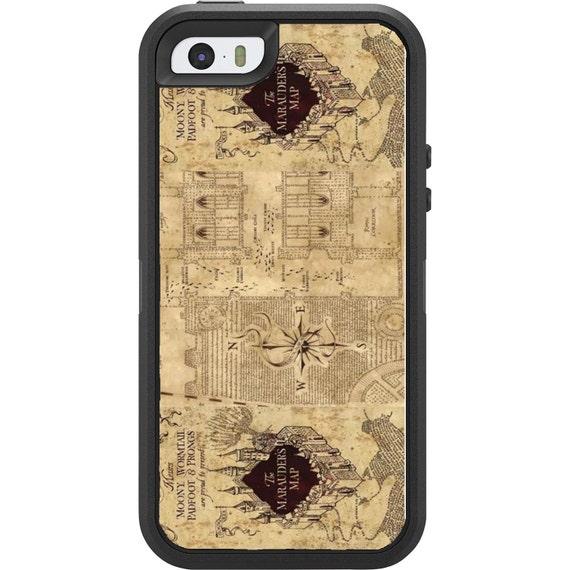 Marauder's Map Harry Potter Phone case iphone 5 5c 6 6 plus 7 smart phone cover