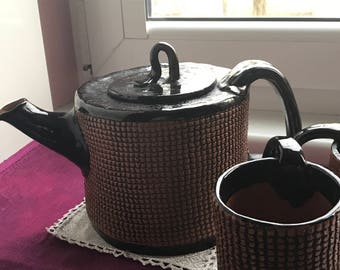 Ceramic tea set for couple