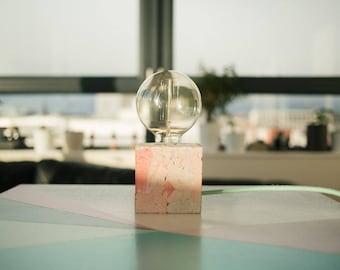 Lampe à poser // Lampe de bureau // Lampe d'appoint // rose