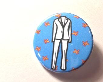 """Pantsuit Button, 1 1/4"""""""