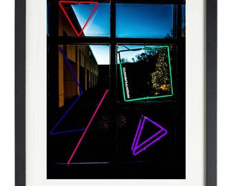 Neon Photo Art, Neon Wall Art, Urban Photography Print, DMV Photography , Neon Photography Print, Neon Wall Decor, Nightlife Print, Fine Art