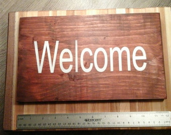 Sign Wooden sign
