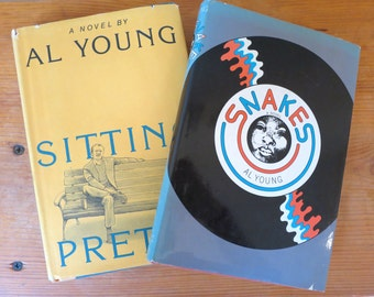 Signed Sitting Pretty and First Edition Snakes by Al Young: Collectible Set
