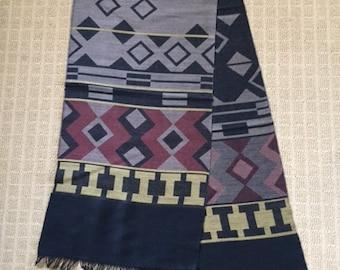 Vintage Made in West Germany wool scarf