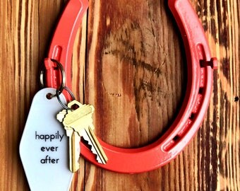 Lucky Horseshoe Key Holder