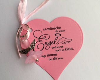 Gift Angel pendant guardian angel enrolment confirmation baptism wedding