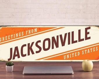 Jacksonville Signs, Jacksonville Sign, Jacksonville Decor, Jacksonville Art, Jacksonville Metal, Jacksonville, Warning Sign, Metal Signs