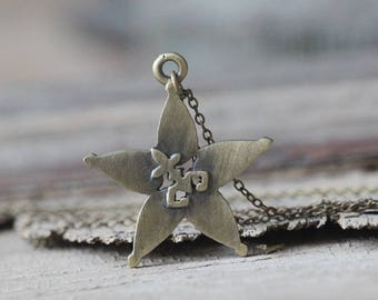 Kingdom Hearts Necklace star jewelry Christmas gifts