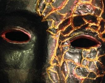 Kintsugi mask
