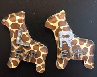Giraffe Lead Markers/X-Ray Marker set