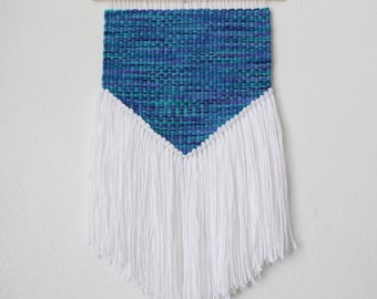 Blue and Purple Mini Wall Hanging