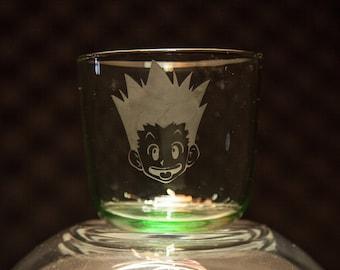 Custom Etched Tumbler Glass