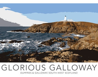 Glorious Galloway Poster UNFRAMED