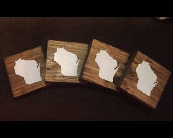 Set of four *your state* Coasters
