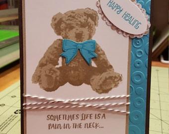 Baby Bear - Get Well card