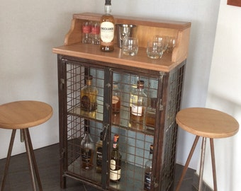 Industrial Whiskey bar