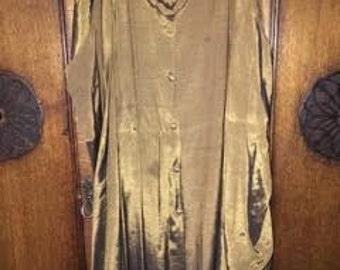 Gold Maxi-Skirt