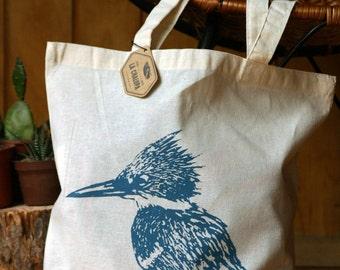 Tote bag/reusable bag printed in silkscreen printing